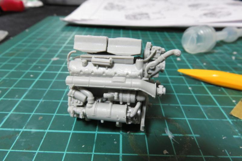 グリレ17 エンジンの組み立て5