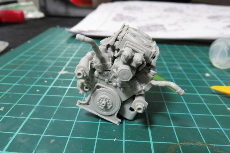 グリレ17 エンジンの組み立て6