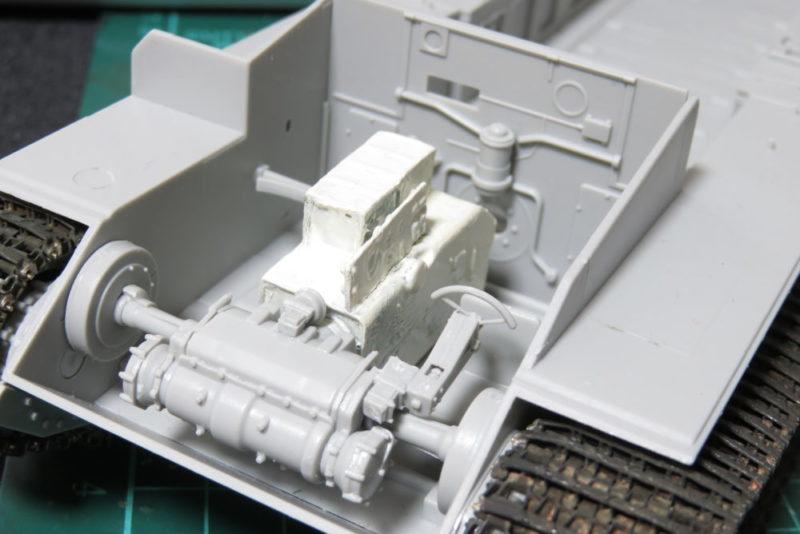 グリレ17 インテリア 作った部品の仮組み