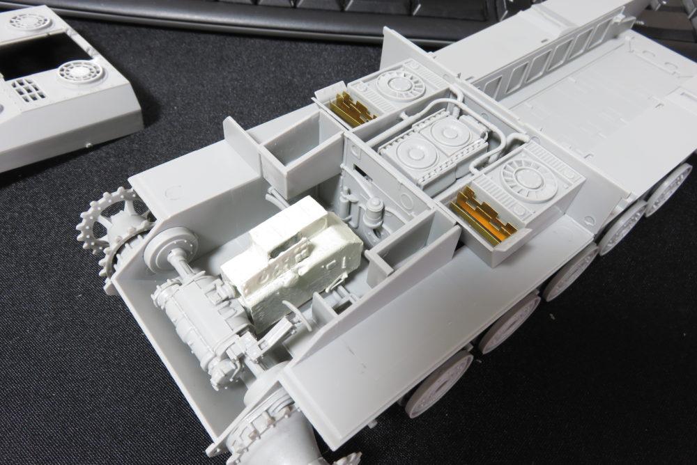 グリレ17 ラジエーターの組み立て6