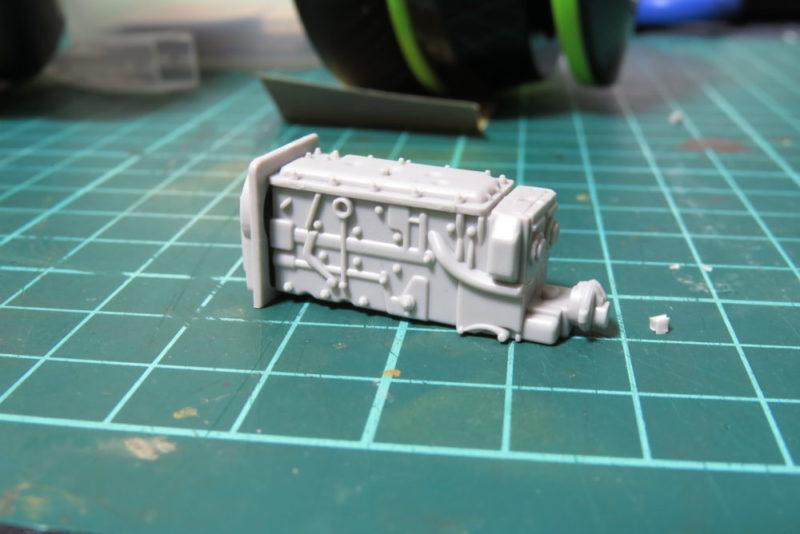 グリレ17 トランスミッションの組み立て2