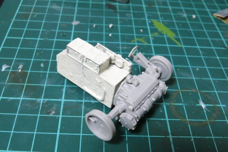 グリレ17 トランスミッションの組み立て8