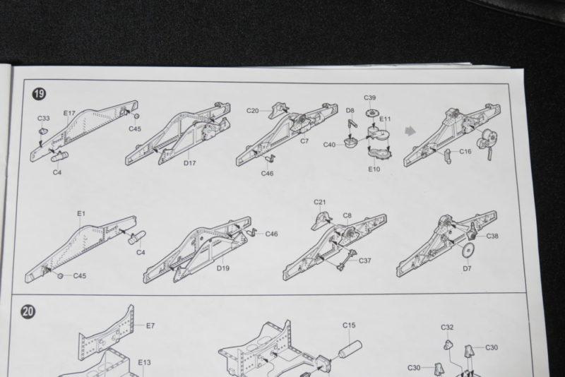 グリレ17 17cm K72(Sf) 砲架の組み立て