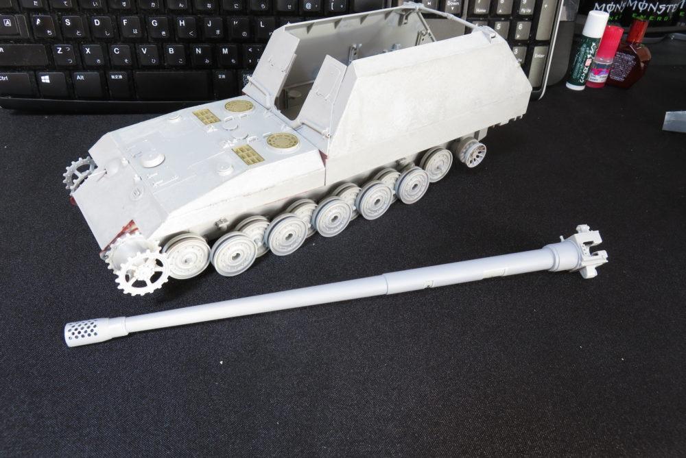 グリレ17 17cm K72(Sf) 砲身の組み立て5