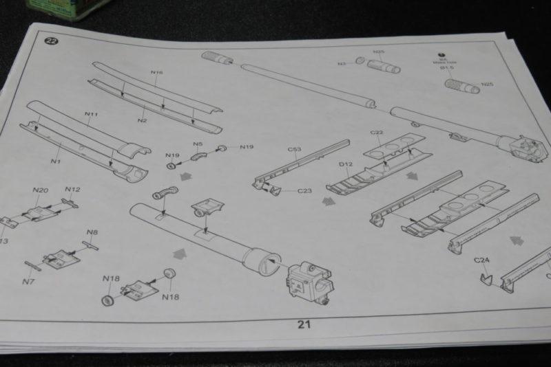 グリレ17 17cm K72(Sf) マズルブレーキの組み立て