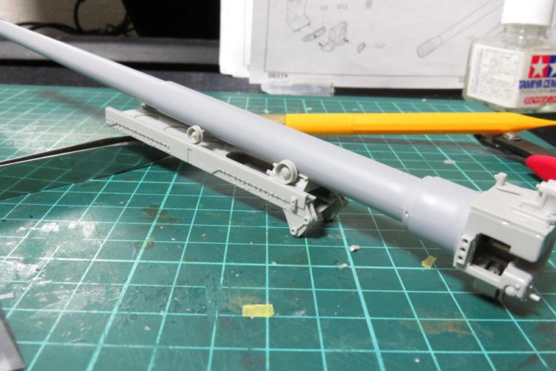 グリレ17 17cm K72(Sf) 駐退機の組み立て4