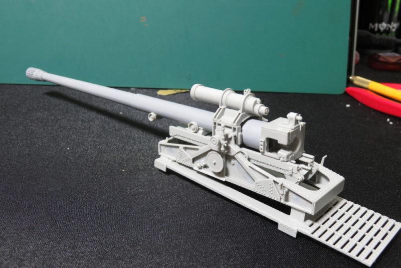 グリレ17 17cm K72(Sf) 駐退機の組み立て6