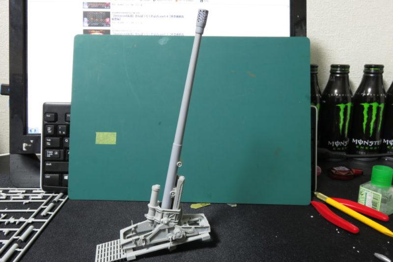 グリレ17 17cm K72(Sf) 駐退機の組み立て7