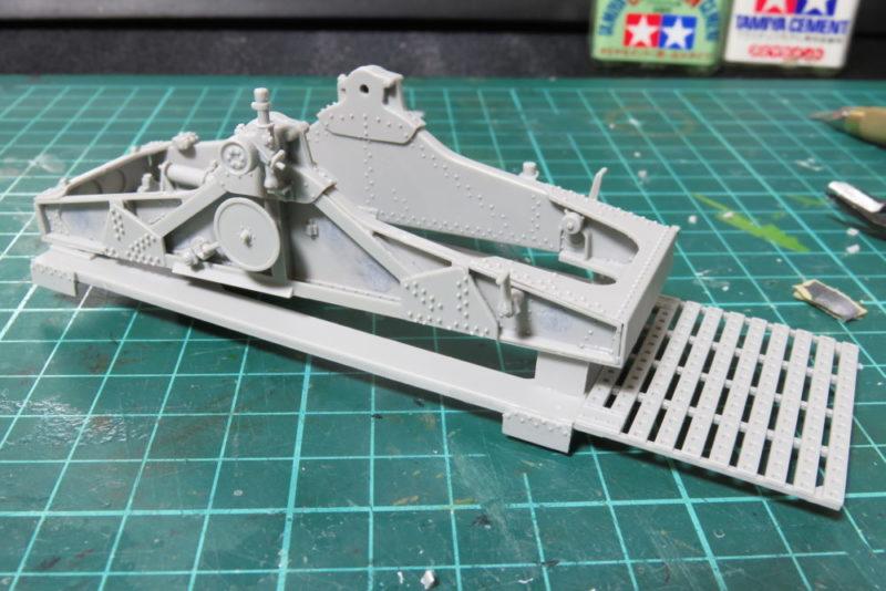 グリレ17 17cm K72(Sf) 砲架の組み立て10