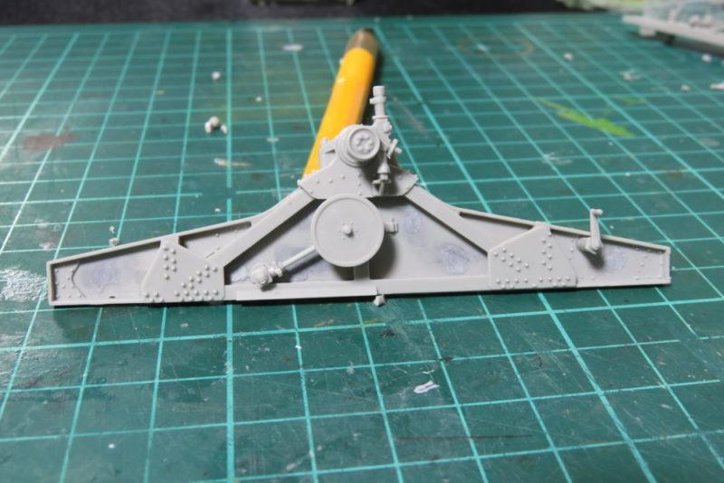 グリレ17 グリレ17 17cm K72(Sf) 砲架の組み立て4