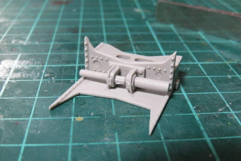 グリレ17 17cm K72(Sf) 砲架の組み立て6