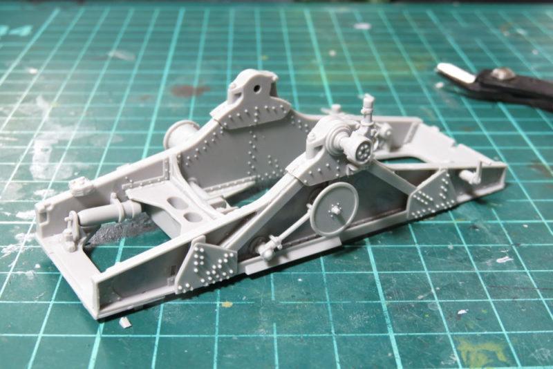 グリレ17 17cm K72(Sf) 砲架の組み立て8