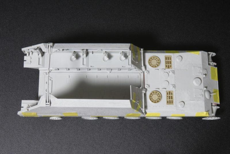 グリレ17 車体の完成2