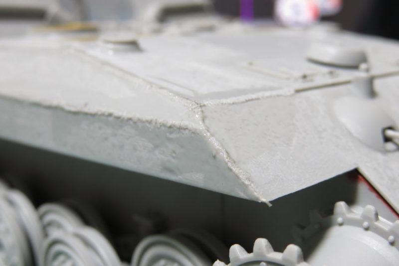 グリレ17 車体前方の装甲板の組み立て8