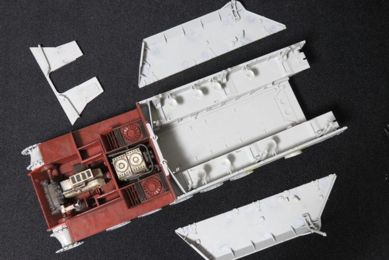 グリレ17 側面装甲板のできあがり