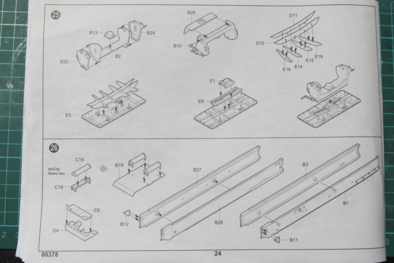 グリレ17 K72(Sf) 砲座の組み立て