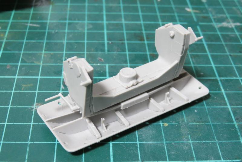グリレ17 K72(Sf) 砲座の組み立て6