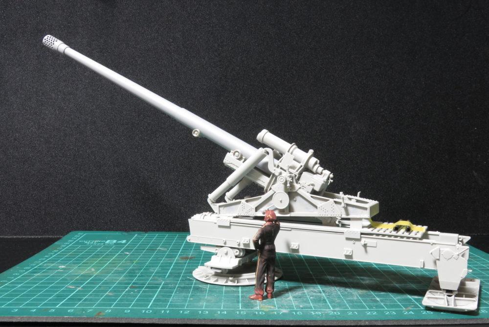 グリレ17 K72(Sf) 上下砲座を結合させる