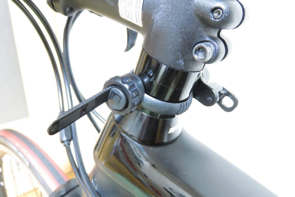 CAT EYE OH-2400 ロードバイクへの取り付け
