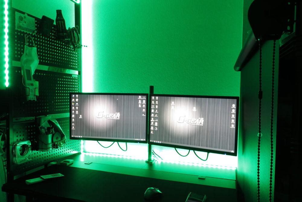 LEDテープライト 部屋をライトアップした結果3