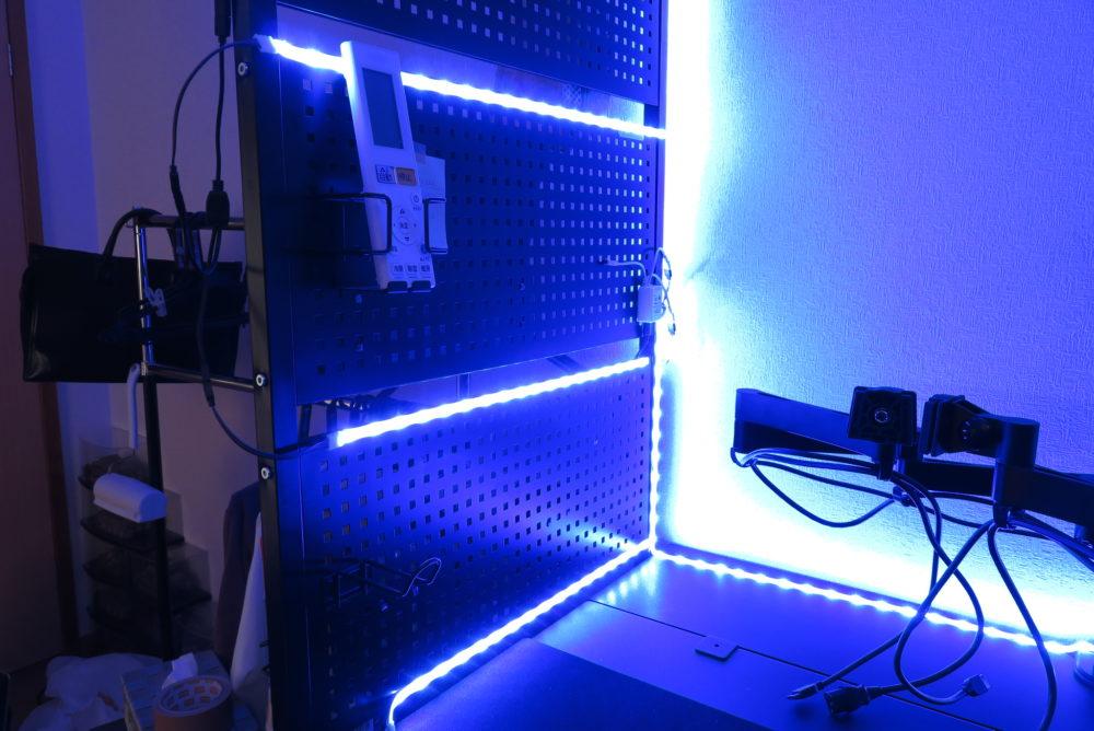 LEDテープライト ライトアップ