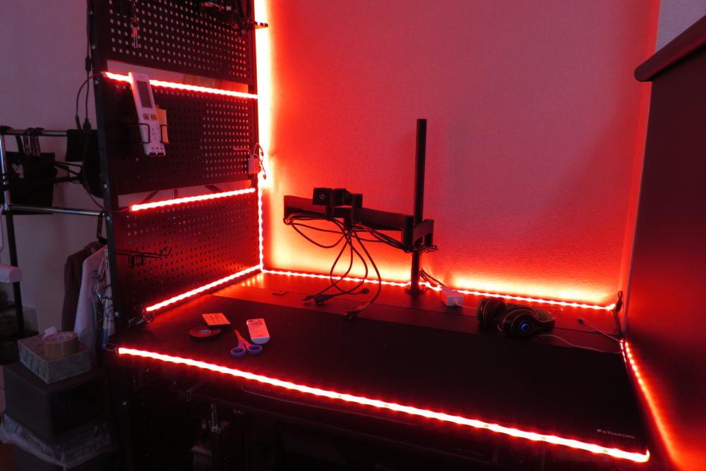 LEDテープライト ライトアップ2