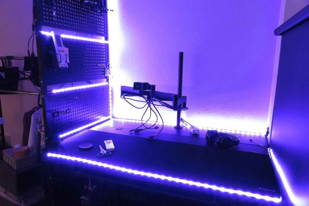 LEDテープライト ライトアップ4