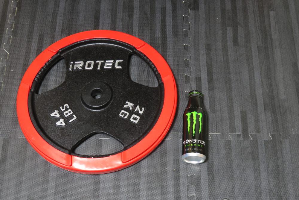 IROTEC 20kg 大きさ比べ