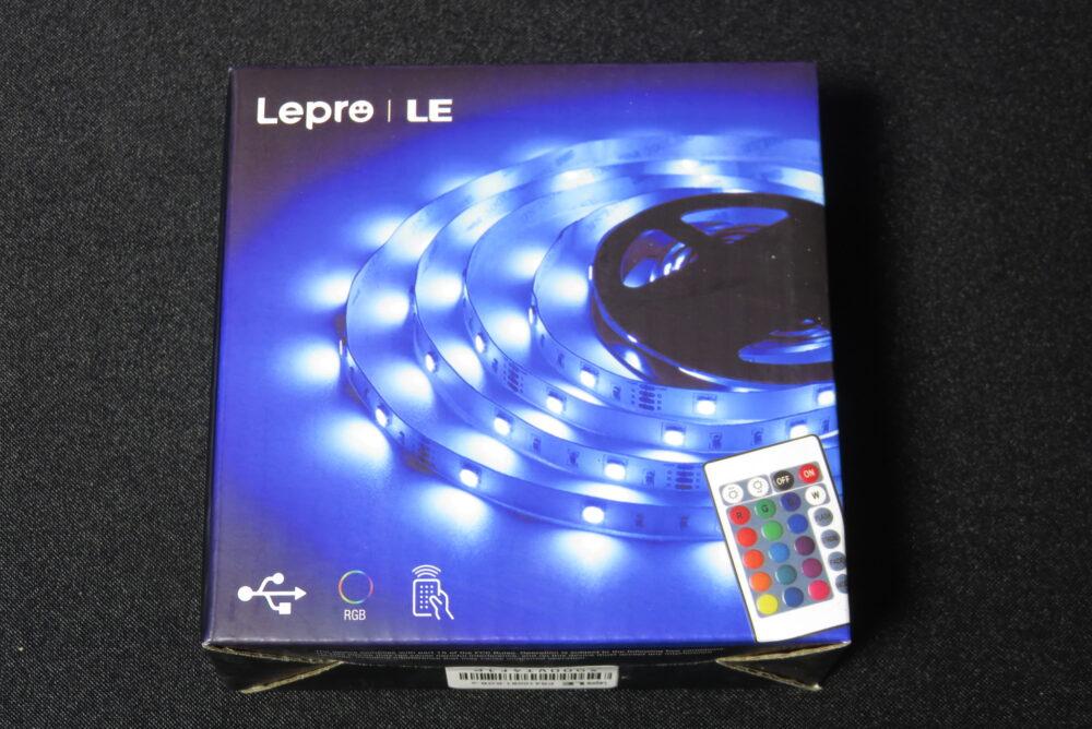 Lepro LEDテープライト パッケージ