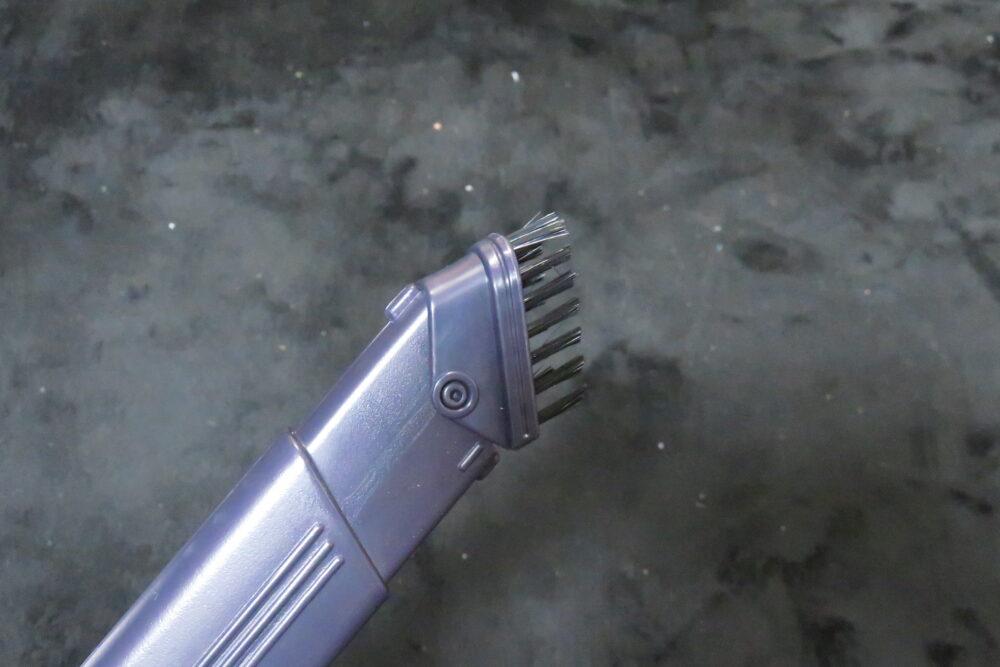 シャープ EC-AR3SX タテヨコ曲がるすき間ノズル 先端のブラシ