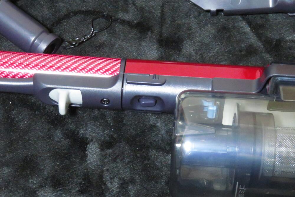 シャープ EC-AR3SX パイプを取り外すボタン