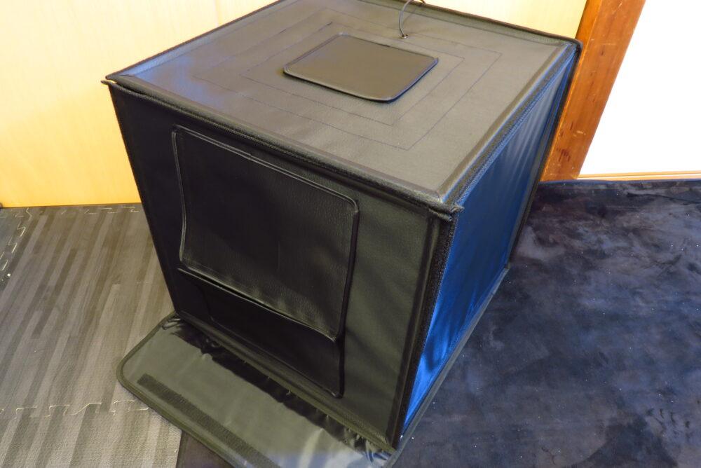 サンワサプライ 撮影ボックス 組み立て完了