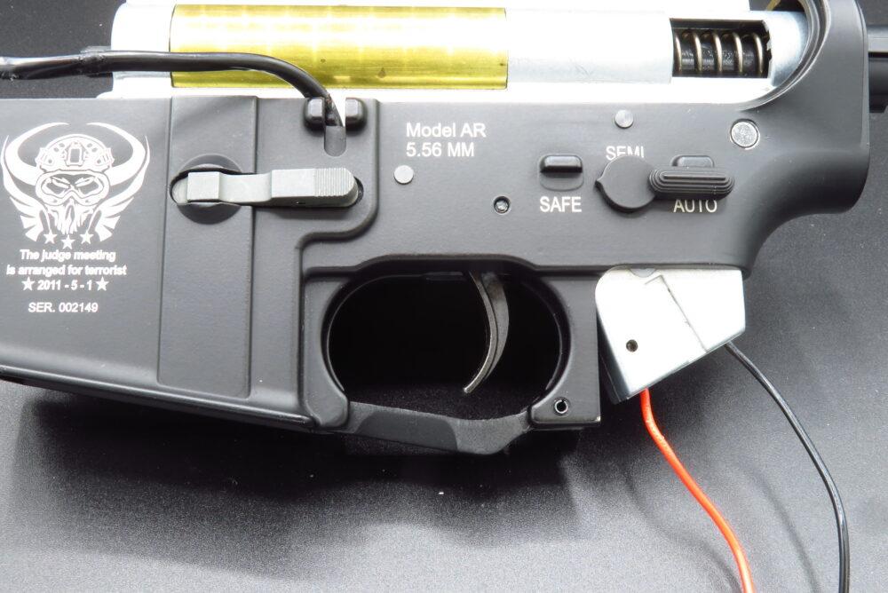 M4軽機関銃 ロアフレーム