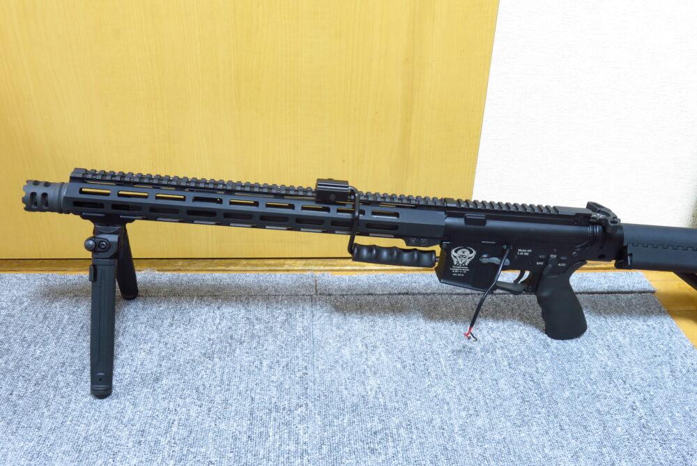 M4をベースにした軽機関銃っぽいものを作ってみた
