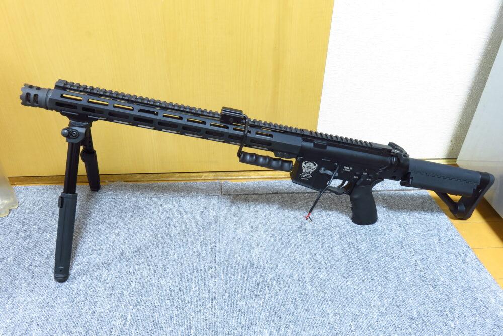 バイポッドを追加したM4軽機関銃2