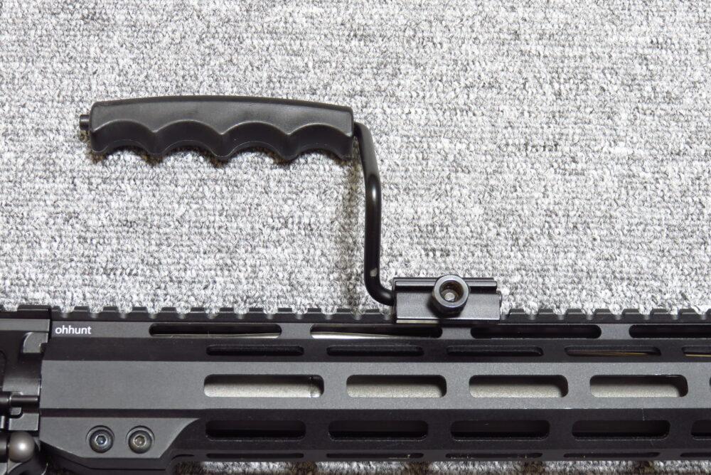 ノーブランド バレットM8タイプ キャリングハンドル 装着例5