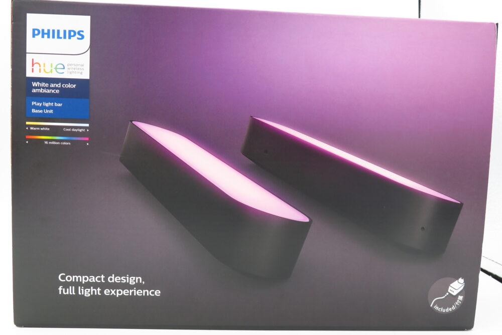 Philips Hue Play ライトバー パッケージ