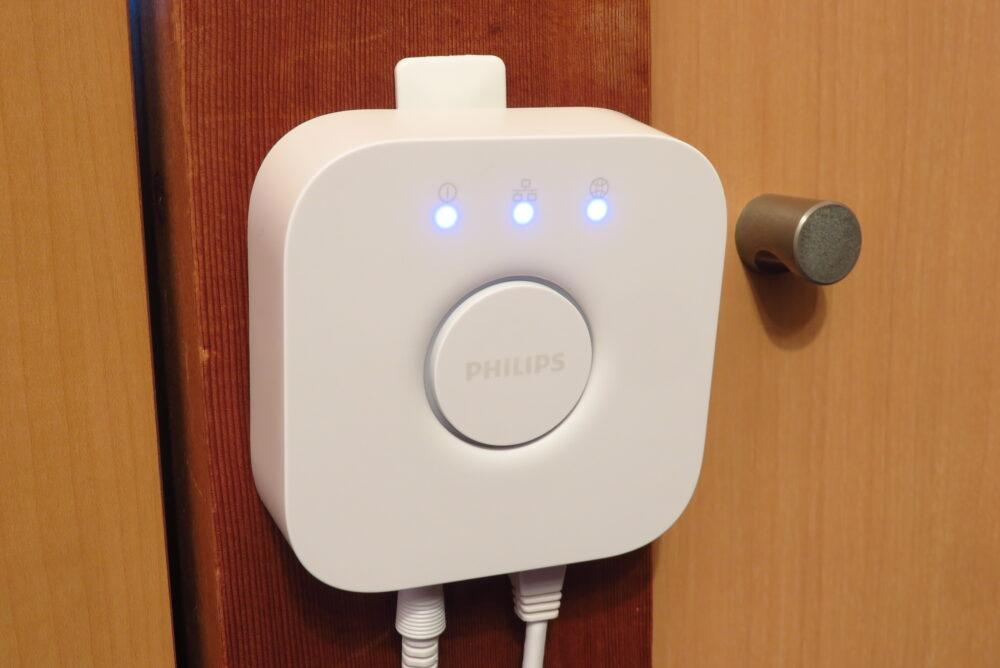 Philips Hue セットアップ Hueブリッジの接続
