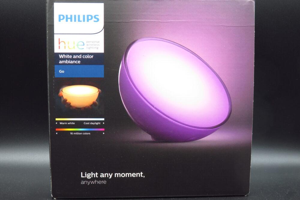 Philips Hue GO パッケージ