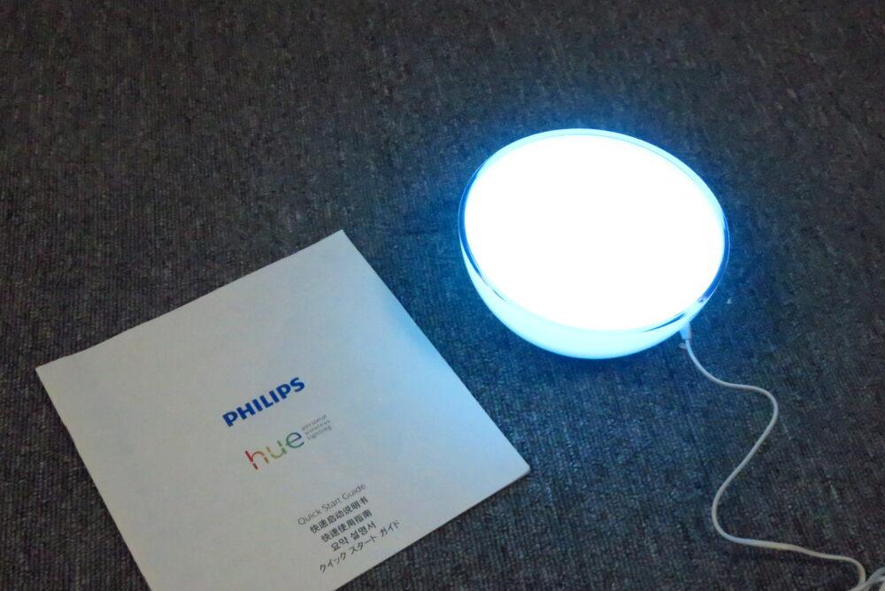 Philips Hue GO  充電中