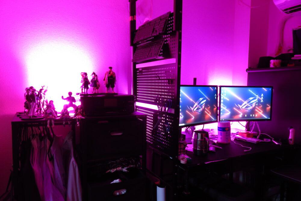 Philips Hueで部屋をライトアップする2